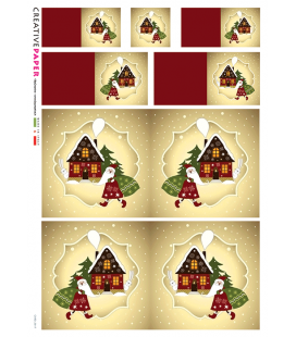 Carta di riso per decoupage CARD-0017