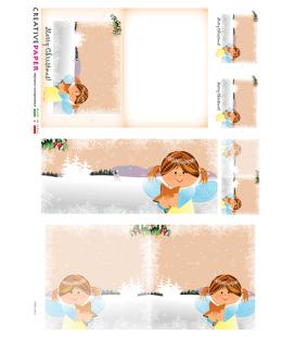 Carta di riso per decoupage CARD-0016