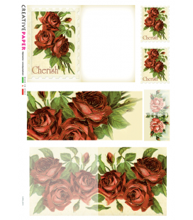 Carta di riso per decoupage CARD-0013