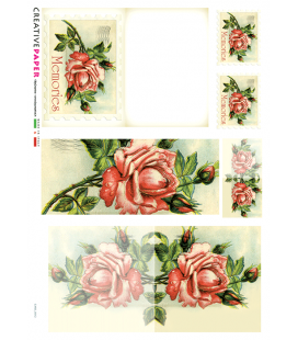 Carta di riso per decoupage CARD-0012