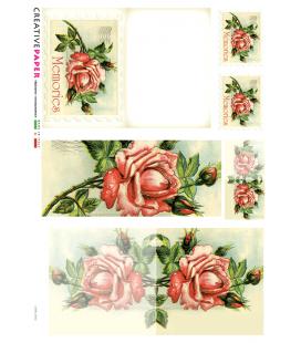 Carta di riso per decoupage CARD-0012