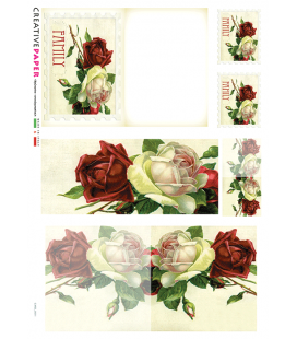 Carta di riso per decoupage CARD-0011