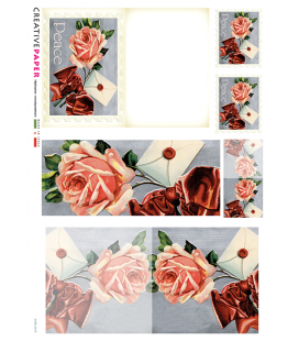 Carta di riso per decoupage CARD-0010