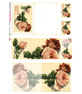 Carta di riso per decoupage CARD-0008