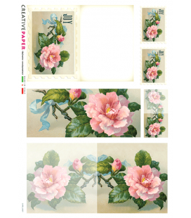 Carta di riso per decoupage CARD-0007