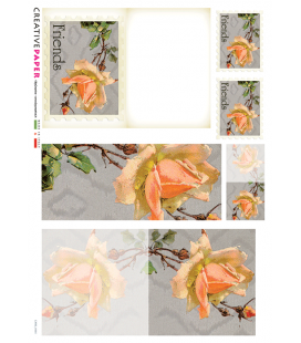 Carta di riso per decoupage CARD-0005