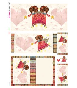Carta di riso per decoupage CARD-0001