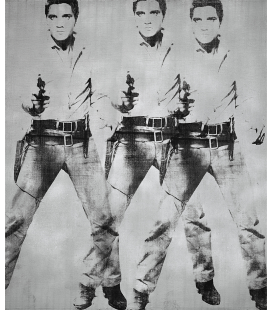 Andy Warhol - Triple Elvis Presley