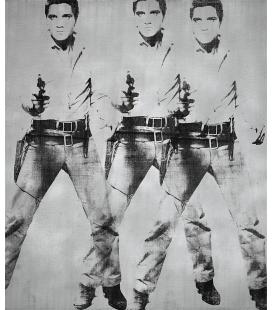 Andy Warhol - Triplo Elvis Presley