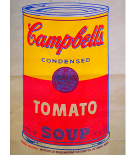 Andy Warhol - Colored Campbell's Soup Can