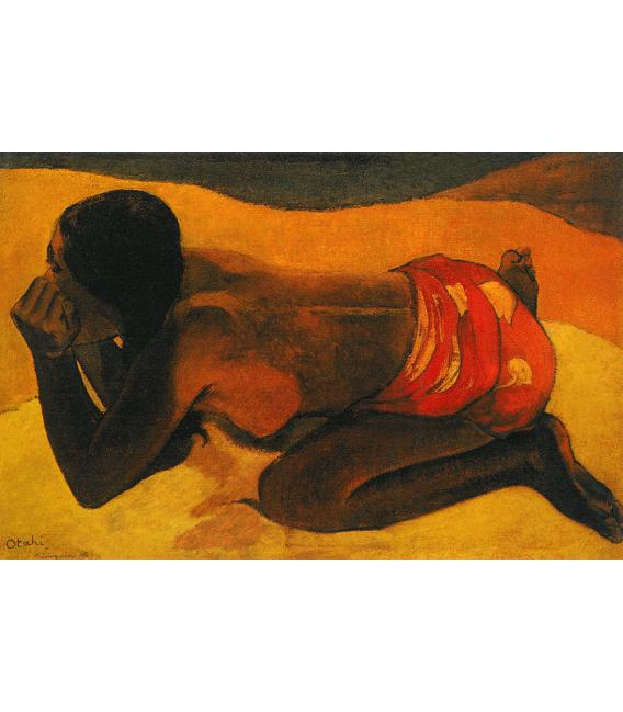 Stampa su tela: Paul Gauguin - Otahi (Sola)