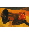 Printing on canvas: Paul Gauguin - Otahi (alone)