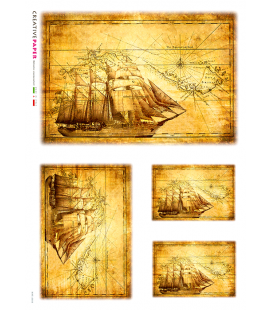 Carta di riso per decoupage MAP_0003