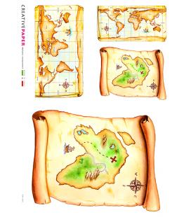 Carta di riso per decoupage MAP_0005