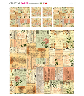 Carta di riso per decoupage MF_0169