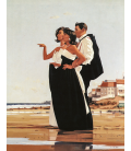 Printing on canvas: Jack Vettriano - The Missing Man II