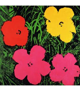 Andy Warhol - Flowers Stampa su tela