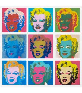Andy Warhol - Nine Marilyn (1966)