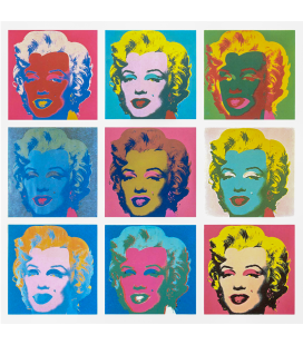 Andy Warhol - Nine Marilyn (1966)