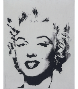 Andy Warhol - White Marilyn