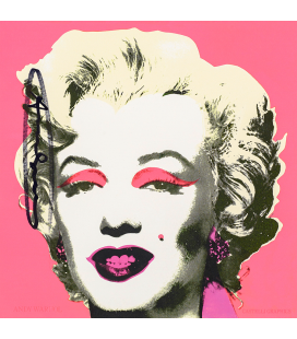 Andy Warhol - Marilyn Invitation Card II 1981