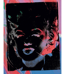 Andy Warhol - Two Multicoloured Marilyn