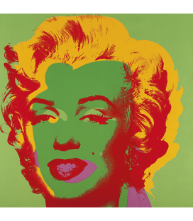 Andy Warhol - Marilyn Monroe-Green 11.25