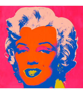 Andy Warhol - Marilyn Monroe-Orange On Pink 11.22