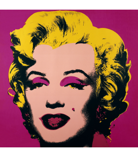 Andy Warhol - Marilyn Monroe-Blonde On Pink 11.31