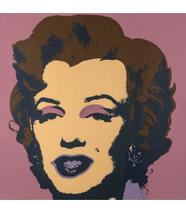 Andy Warhol - Marilyn Monroe-Purple 11.271
