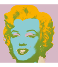 Andy Warhol - Marilyn 1967 Lilla