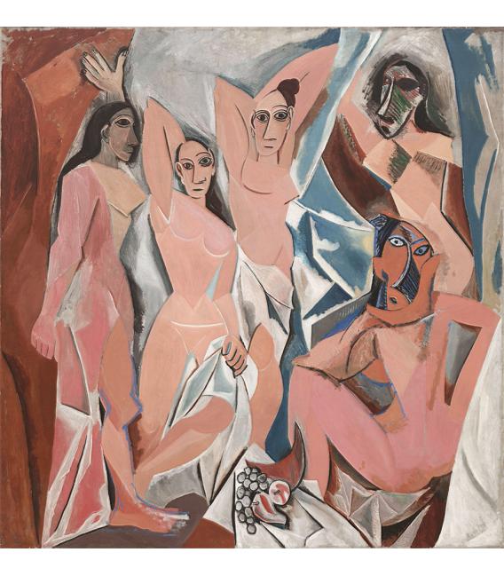 Printing on canvas: Pablo Picasso - Les Demoiselles d'Avignon