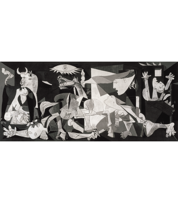 Printing on canvas: Pablo Picasso - Guernica