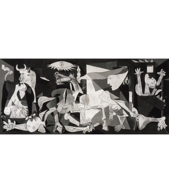 Stampa su tela: Picasso Pablo - Guernica