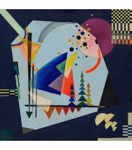 Kandinsky Vassily - Three Sounds ( Drei Klänge ) Stampa su tela