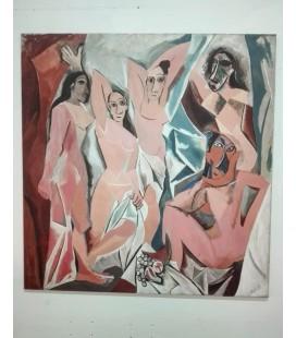 Pablo Picasso - Les Demoiselles d'Avignon 1907