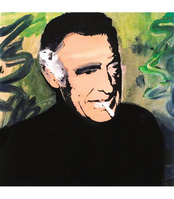 Andy Warhol - Gianni Agnelli. Stampa su tela