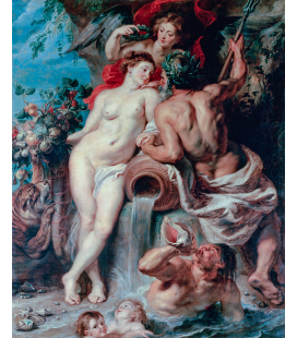 Peter Paul Rubens - The Union of Earth and Water. Printing on canvas