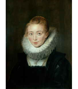 Peter Paul Rubens - Portrait of Lady in Waiting to the Infanta Isabella. Printing on canvas