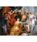 Peter Paul Rubens - The judgment of Solomon. Printing on canvas
