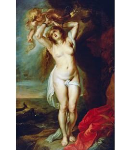 Peter Paul Rubens - Andromeda, Stampa su tela