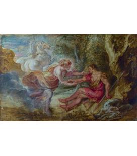 Peter Paul Rubens - Aurora rapisce Cefalo, Stampa su tela