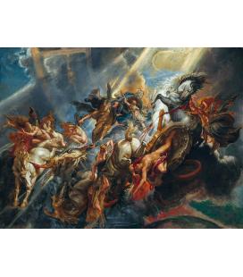Peter Paul Rubens - La caduta di Fetonte, Stampa su tela