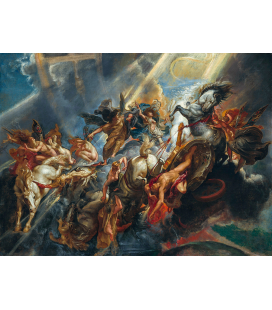 Peter Paul Rubens - The fall of Fetonte. Printing on canvas