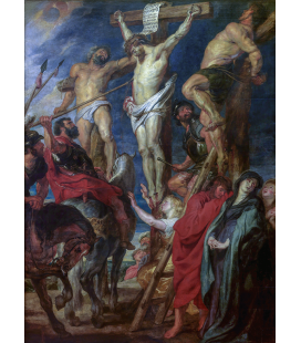 Peter Paul Rubens - Cristo in croce. Stampa su tela