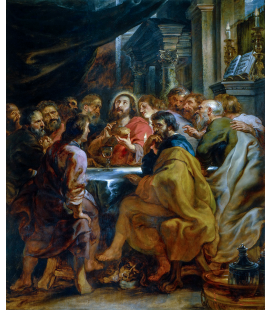 Peter Paul Rubens - Last Supper. Printing on canvas