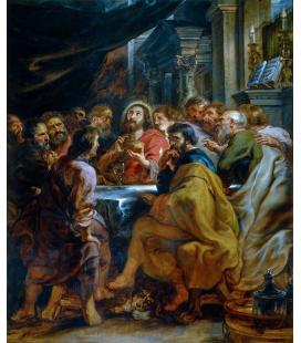Peter Paul Rubens - Ultima Cena. Stampa su tela