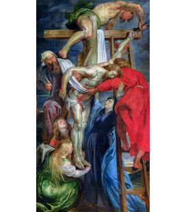 Peter Paul Rubens - The Descent From The Cross. Printing on canvas