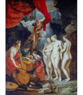 Peter Paul Rubens - The Education of Maria de Medici. Printing on canvas