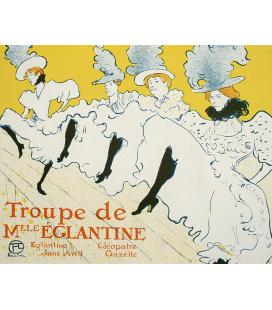 Henri de Toulouse-Lautrec - Niederkorn. Stampa su tela